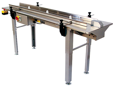 PP-72F 6Ft. Lugged infeed Conveyors